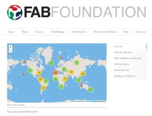 Fab Labs Around the world