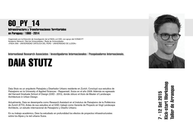 los expositores Daia Stutz