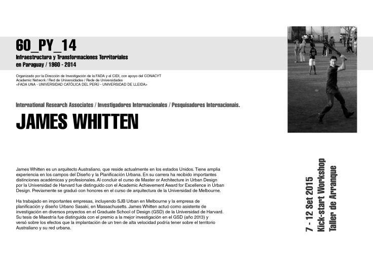 los expositores James Whitten
