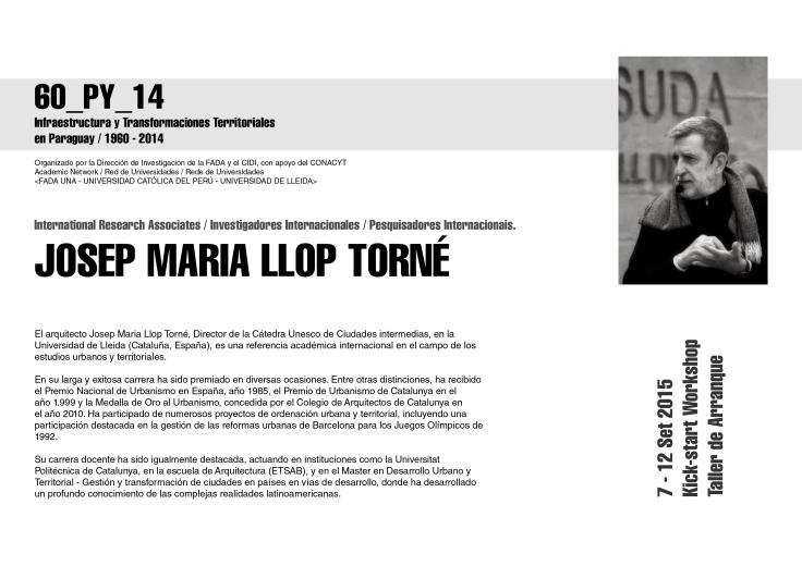 los expositores Josep Maria 2
