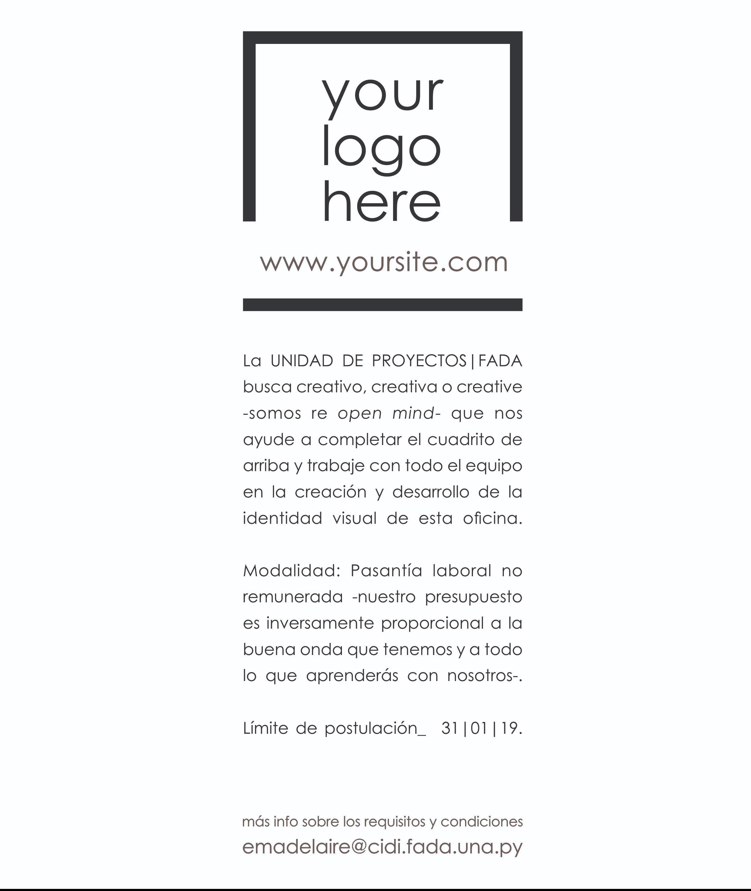Unidad de Proyecto - Afiche01_ Diseñador Gráfico